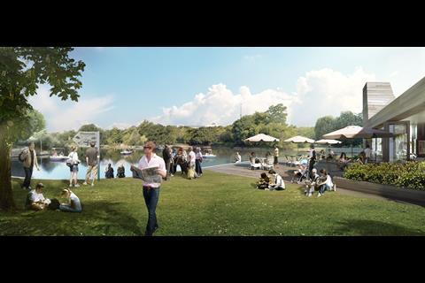 Crystal Palace Park revamp